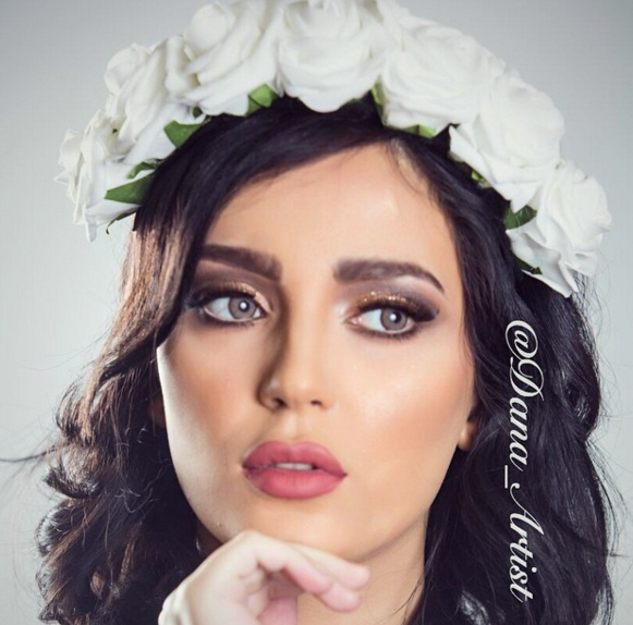 Stunning Bridal Makeup By Kuwaiti Makeup Artist - Arabia Weddings