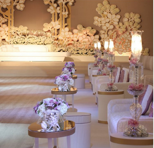 Top 5 wedding planners in kuwait arabia weddings bibi hayat has created a name for herself not only in kuwait but in the rest of the gulf countries as well bibi started off with her business the november junglespirit Choice Image
