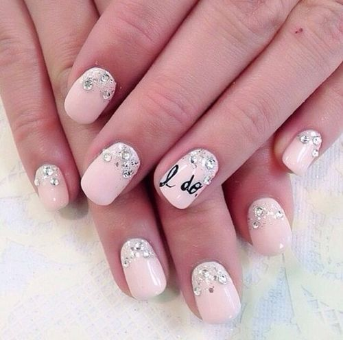 Over the top bridal nails arabia weddings idonailart prinsesfo Images