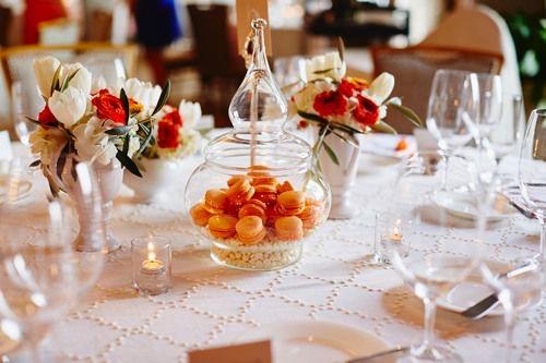 A Macaroon Wedding Theme Arabia Weddings