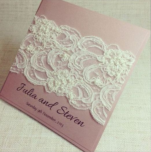 lace wedding invitations for your wedding - arabia weddings, Wedding invitations