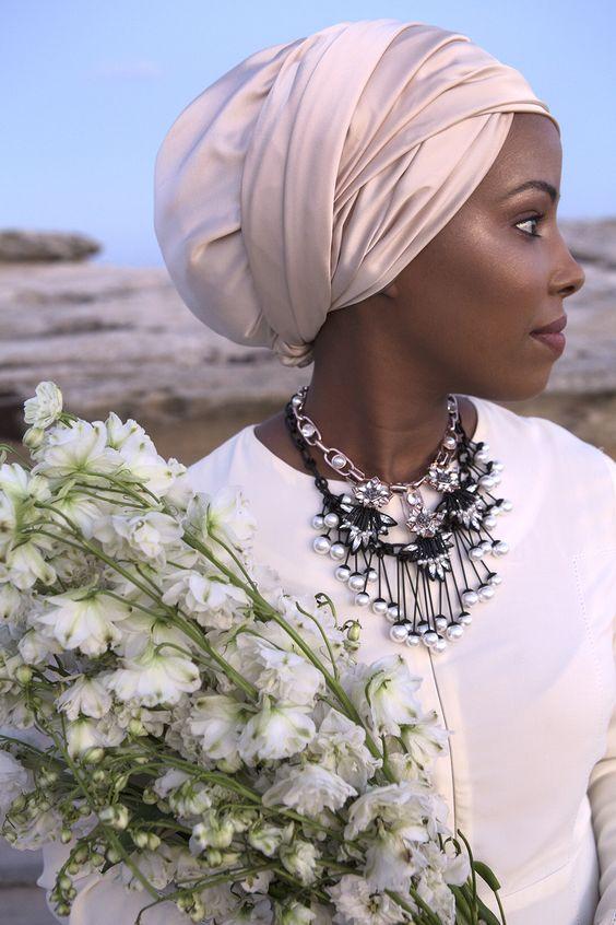 Turban fashion wedding