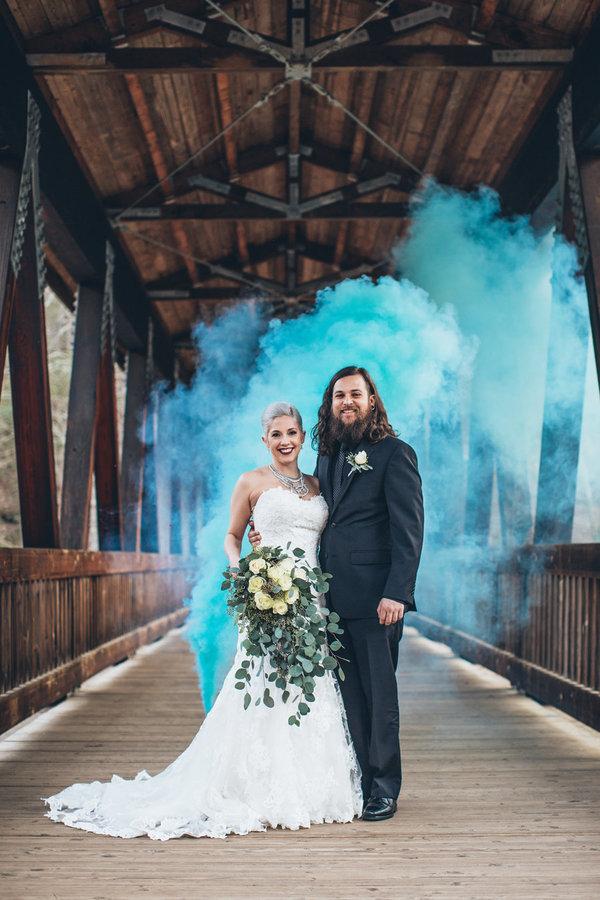 Wedding Photography Trend Smoke Bombs Arabia Weddings