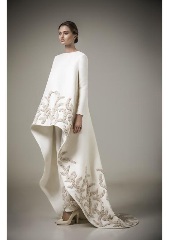 Mohammed ashi kaftans 2016 arabia weddings for White kaftan wedding dress