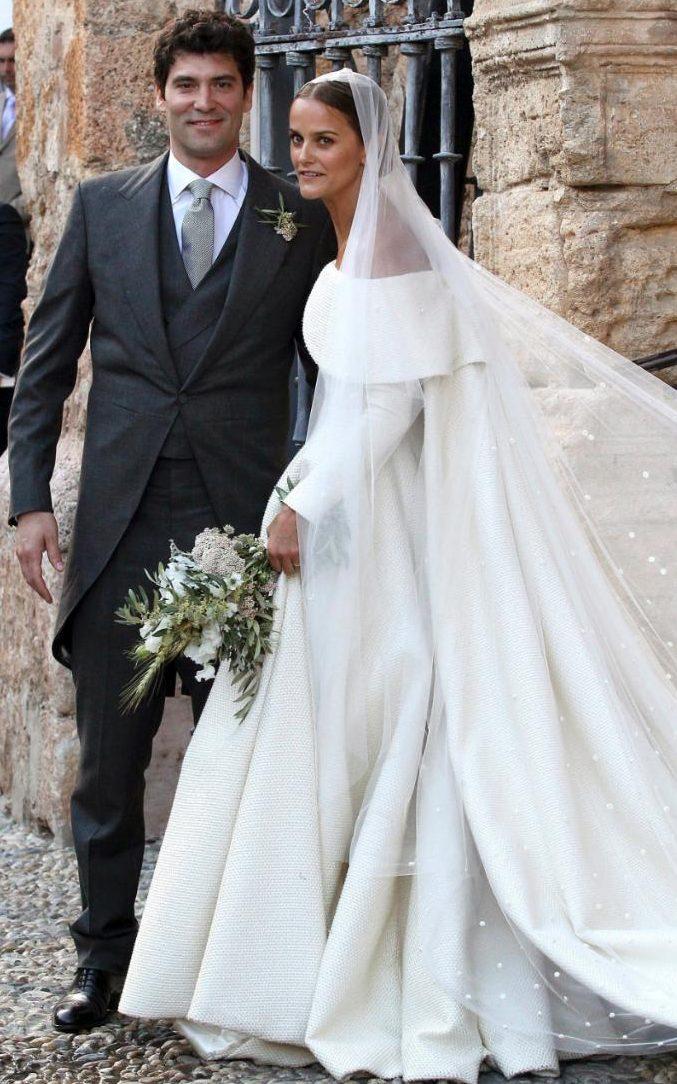 Lady Charlotte Wellesley Weds Billionaire Financier In
