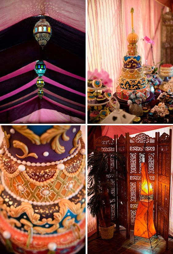 Arabian nights wedding theme arabia weddings for Arabian nights decoration