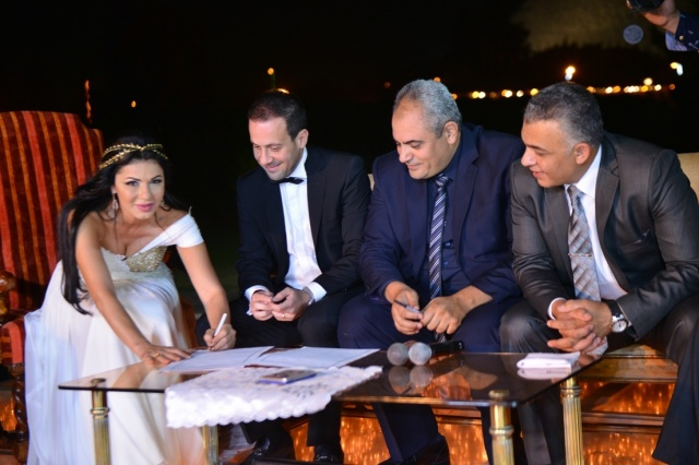 Top 20 Wedding Grand Entrance Songs 2016 Bridal Party: Pictures: The Marriage Of Egyptian Actress Naglaa Badr