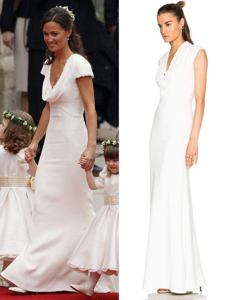 Pippa middleton dress on sale arabia weddings for Wedding dress like pippa middleton
