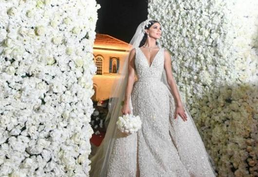 acafd105fbb90 صور فساتين الزفاف الأجمل على انستقرام لعام 2016