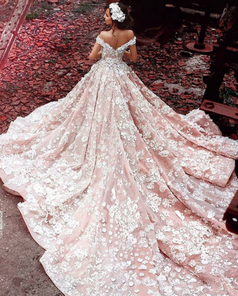 Most Beautiful Ball Gown Wedding Dresses: The Most Beautiful Wedding Dresses On Instagram In 2016