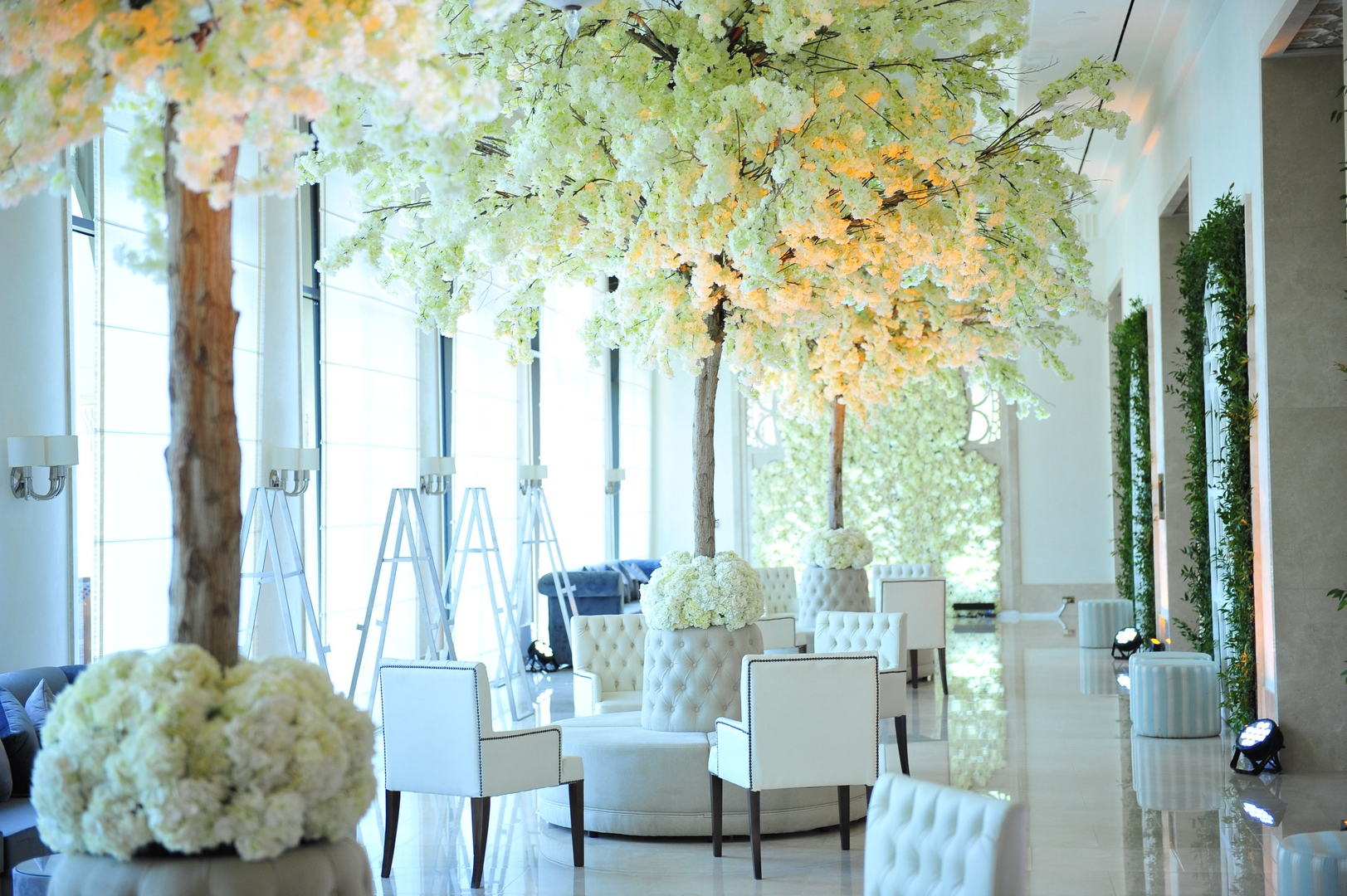 A Reign Of Orchids Themed Wedding In The Uae Arabia Weddings