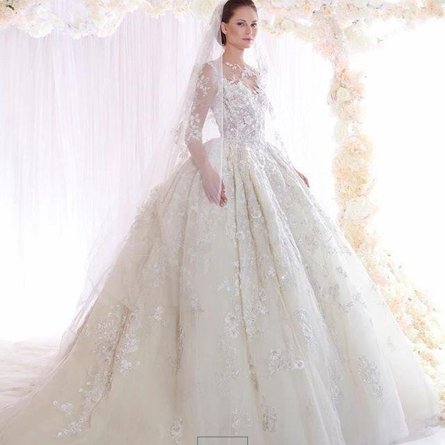 مجموعة فساتين زفاف زياد لعام