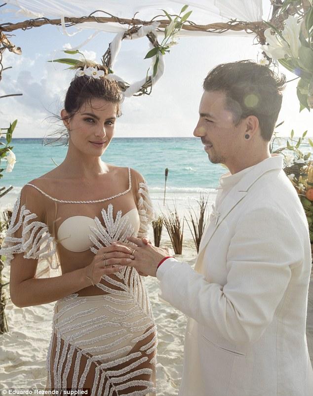 Brazilian Model Isabeli Fontana Gets Married In See