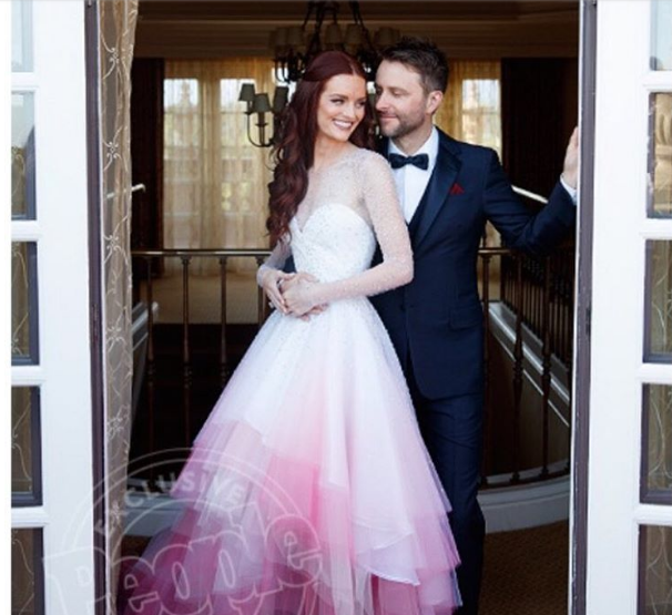Pictures chris hardwick and lydia hearst are arabia weddings