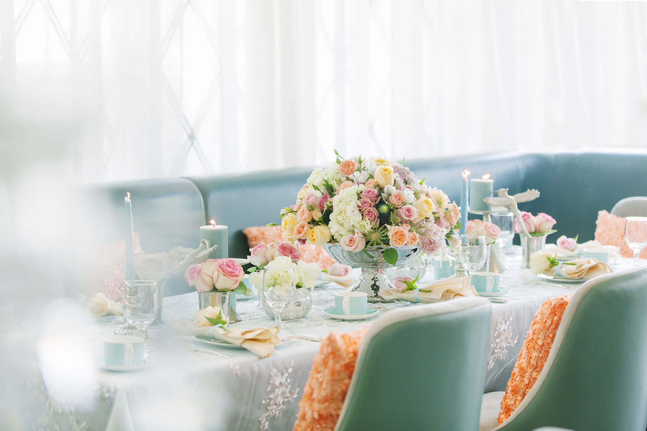 A Pretty Pastel Wedding Theme Photo Shoot by The Day - Arabia Weddings