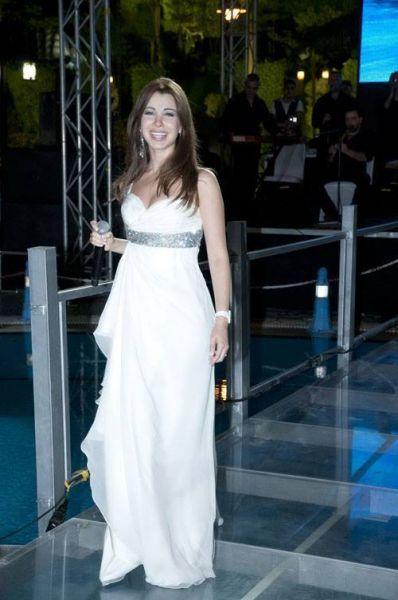 bridal approved white dresses from nancy ajram