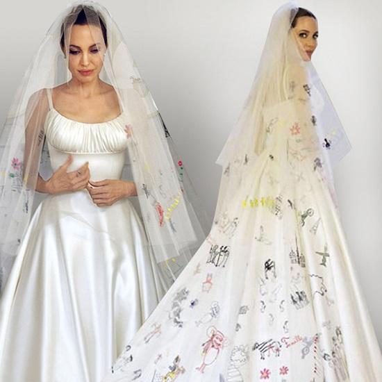 4 Nontraditional Celebrity Wedding Dresses