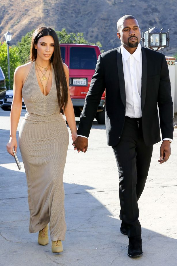 Kim Kardashian And Kanye West Attend Wedding Arabia Weddings