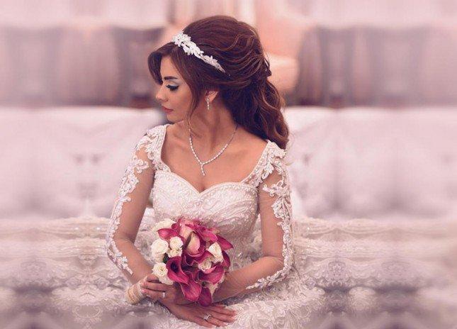 تسريحة الشعر الأكثر شعبية العرائس