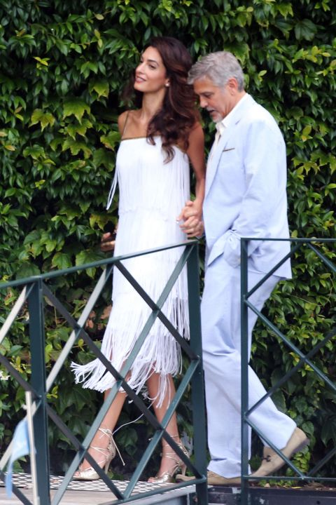 Your Honeymoon Fashion Inspired By Amal Clooney Arabia