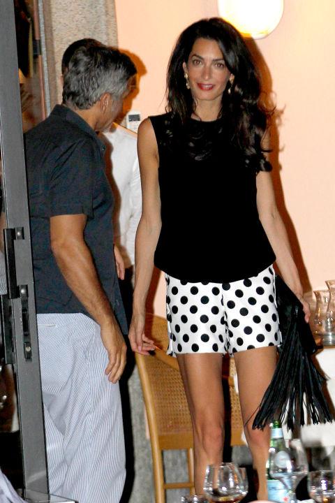 Your Honeymoon Fashion Inspired By Amal Clooney Arabia