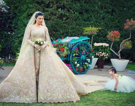 Fairy Tale Wedding Dress 78 Popular Dana Chehab and Charles
