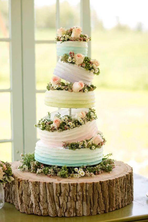 Disney Wedding Ideas 79 Luxury topsy turvy wedding cakes