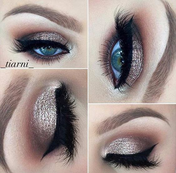 Metallic Makeup Looks For The New Year Bride Arabia Weddings