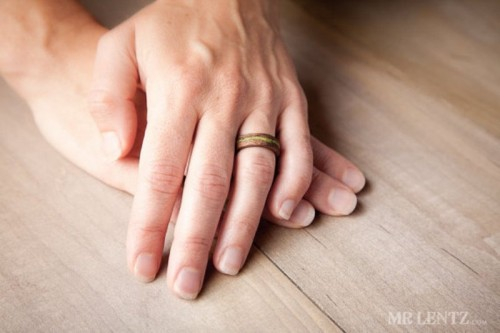 Eco Friendly Wood Wedding Rings_1