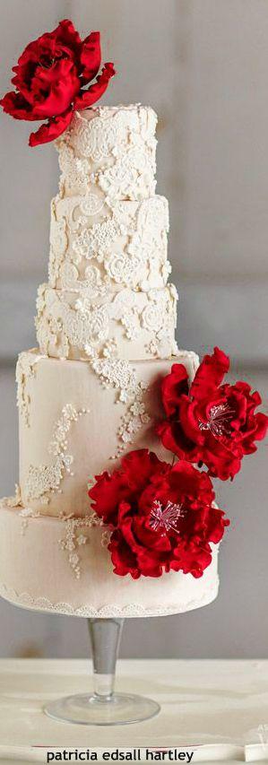أفكار لكيك الزفاف, أفكار لكيك