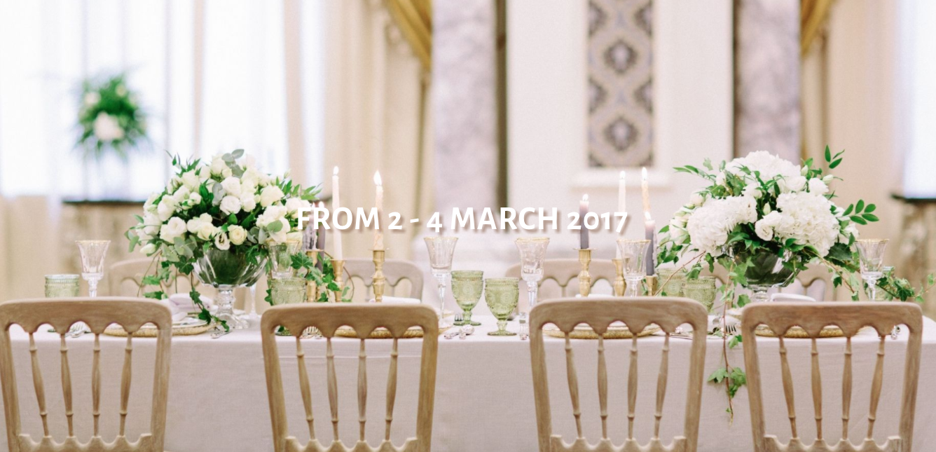 Dates for Your Diary: March 2017 - Arabia Weddings