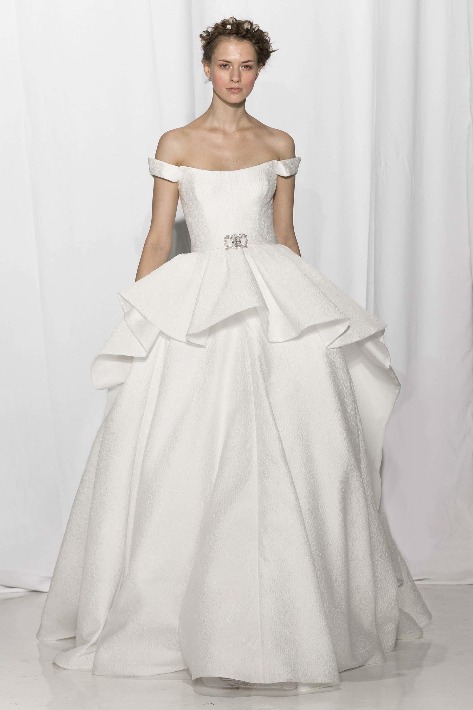 Algerian Wedding Dress 5 Amazing reem acra bridal collection