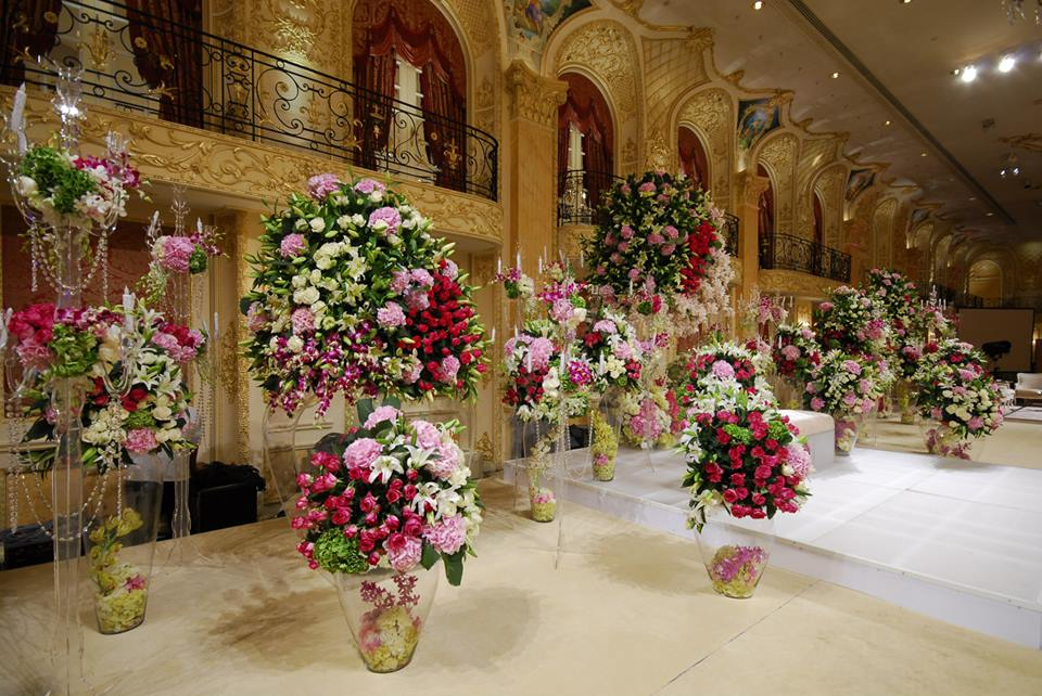 Top 6 wedding florists in jeddah arabia weddings rawah for wedding kosha junglespirit Image collections