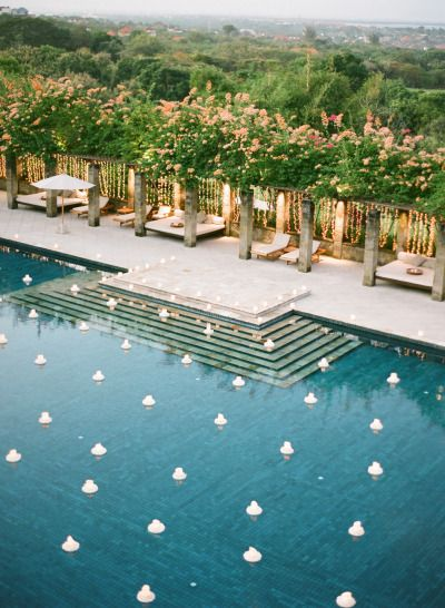 Poolside Wedding Ideas Arabia Weddings