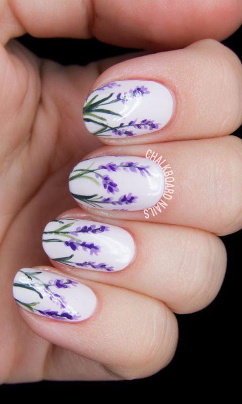 Spring Wedding Nail Designs : Bridal spring nails arabia weddings
