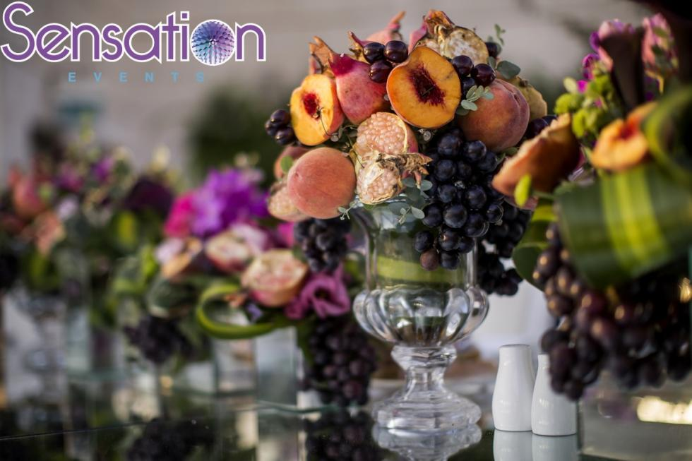 Astounding 6 Fruit Centerpieces For Your Wedding Arabia Weddings Complete Home Design Collection Barbaintelli Responsecom