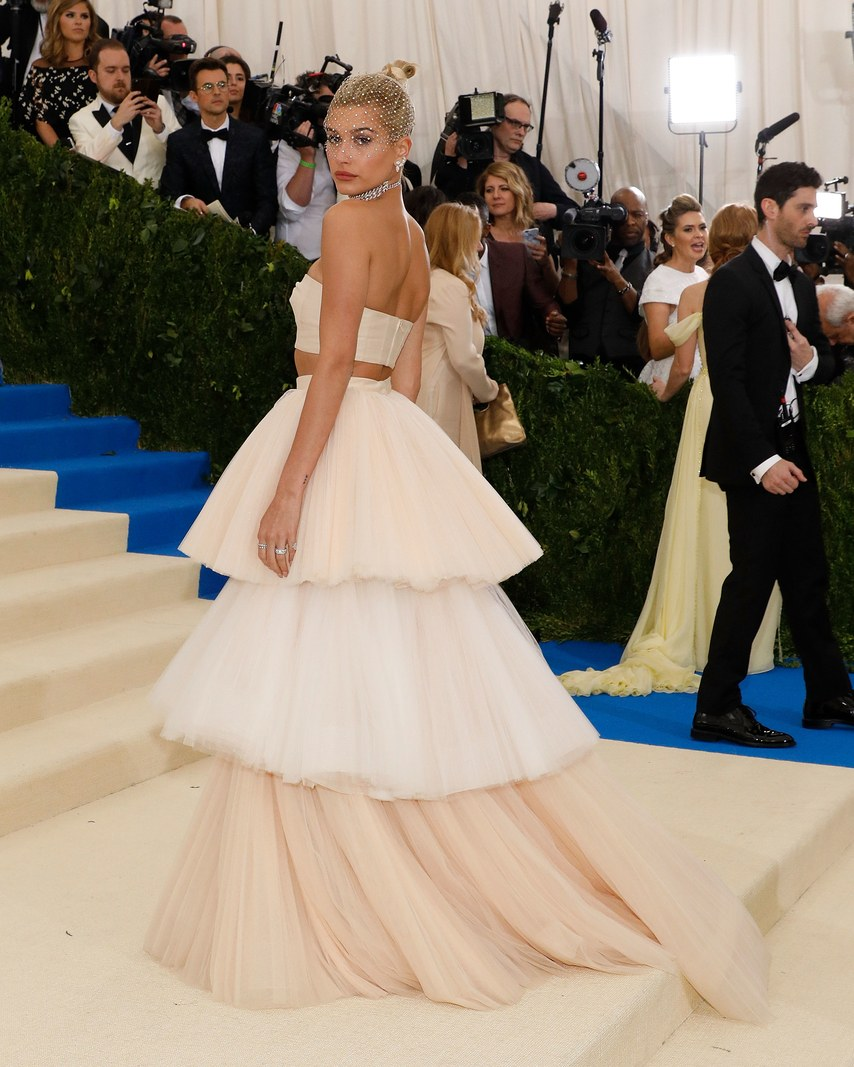 10 bridal approved wedding dresses from met gala 2017 arabia behati prinsloo in topshop junglespirit Image collections