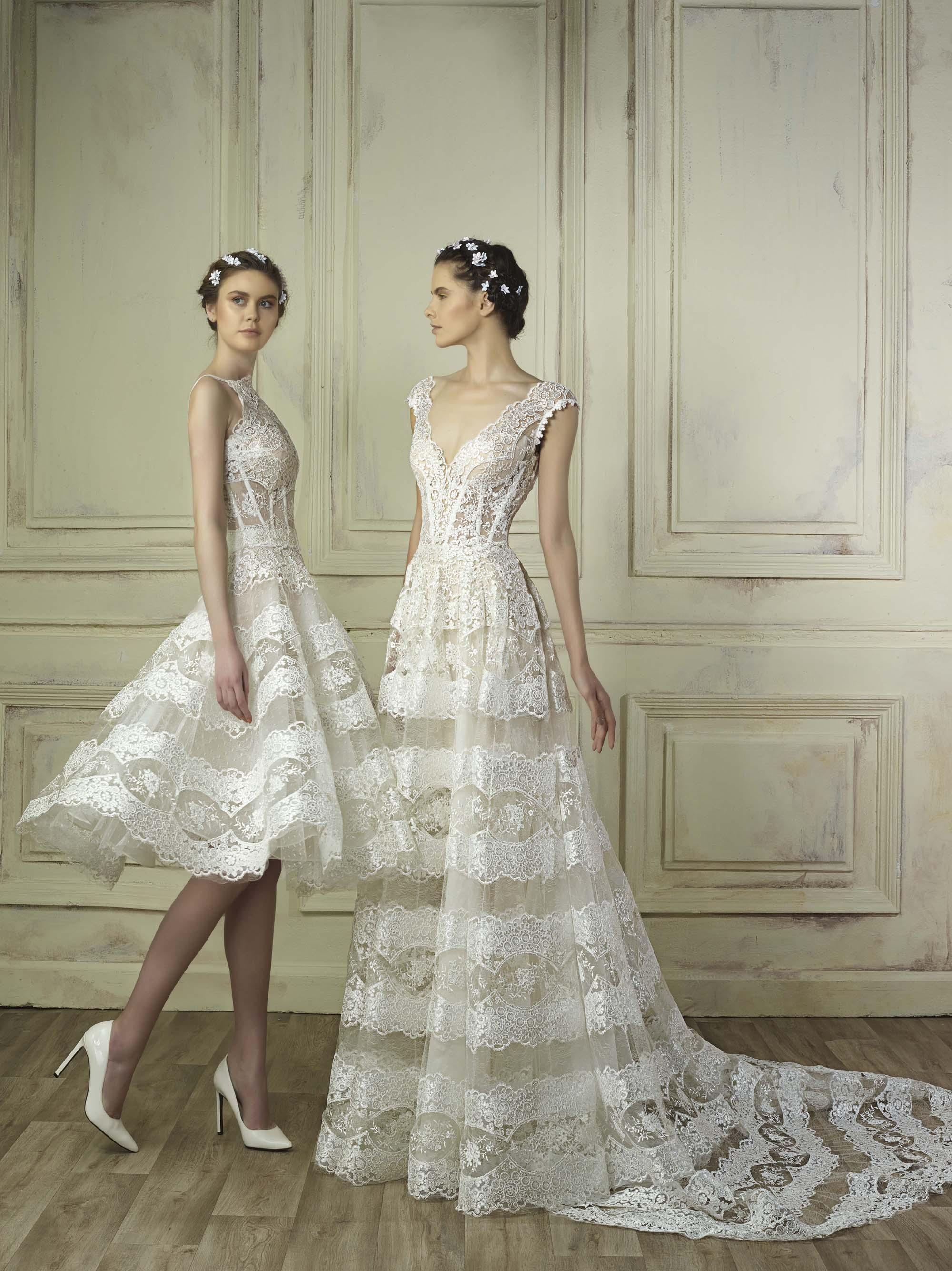 Gemy Maalouf 2018 Wedding Dresses Arabia Weddings