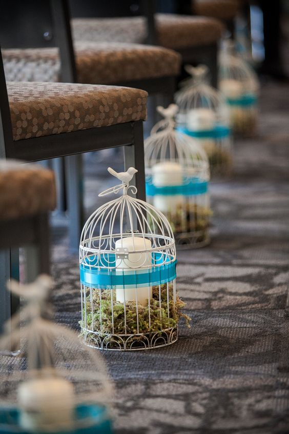 Bird Cages To Decorate Your Outdoor Wedding