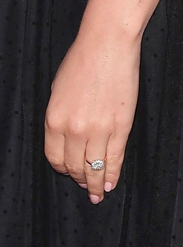 Wearing Engagement Ring At Wedding