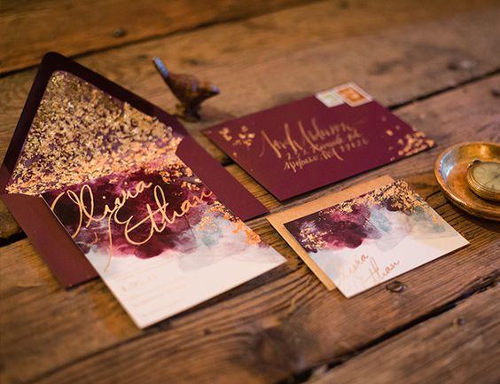 Fall Wedding Invitation 5 4 2 0