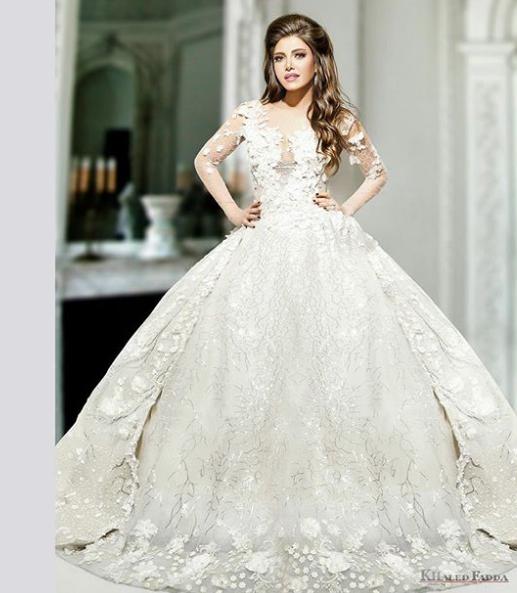 Algerian Wedding Dress 18 Vintage Dorra Zarrouk in a