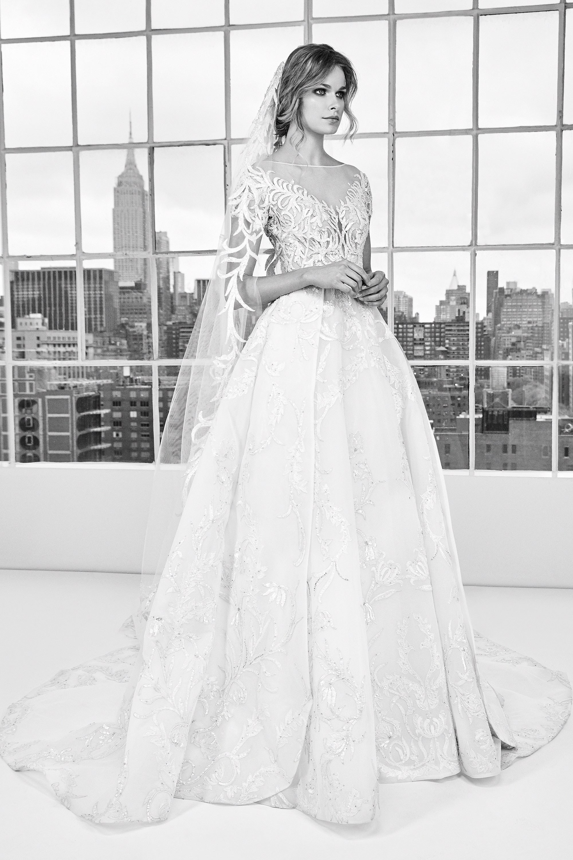 The Zuhair Murad 2018 Spring Wedding Dress Collection - Arabia Weddings