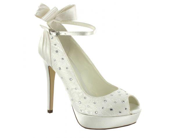 Silver Wedding Shoes 87 Epic  karina