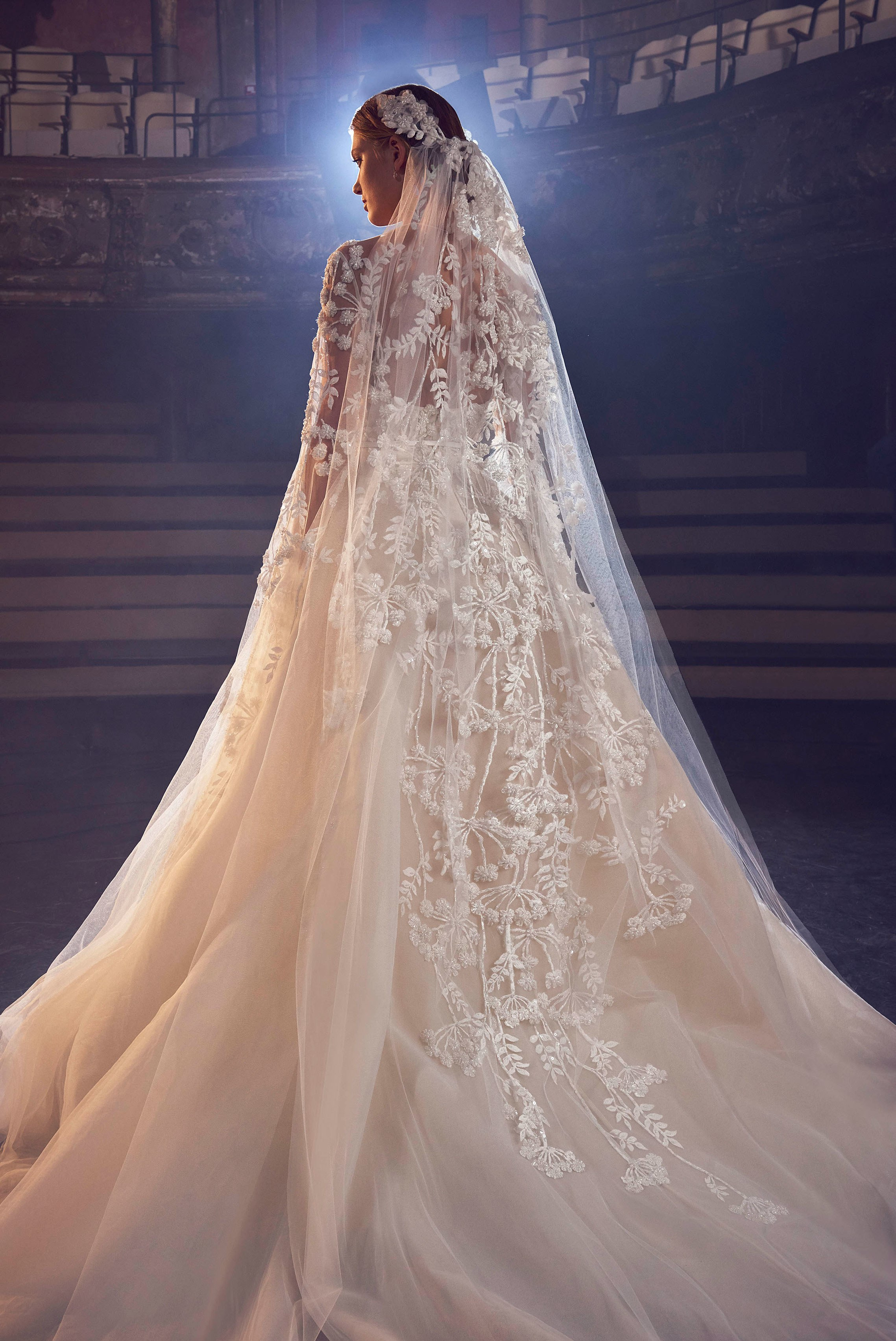 A Beautiful Wedding Dress Collection For Fall 2018 by Elie ...