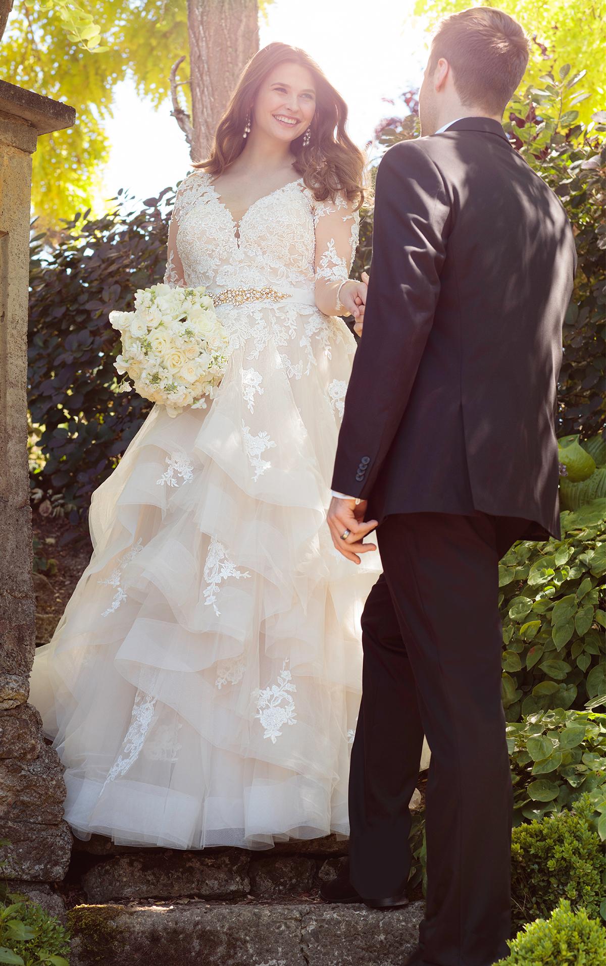 Plus Size Long Sleeve Wedding Dresses   Arabia Weddings