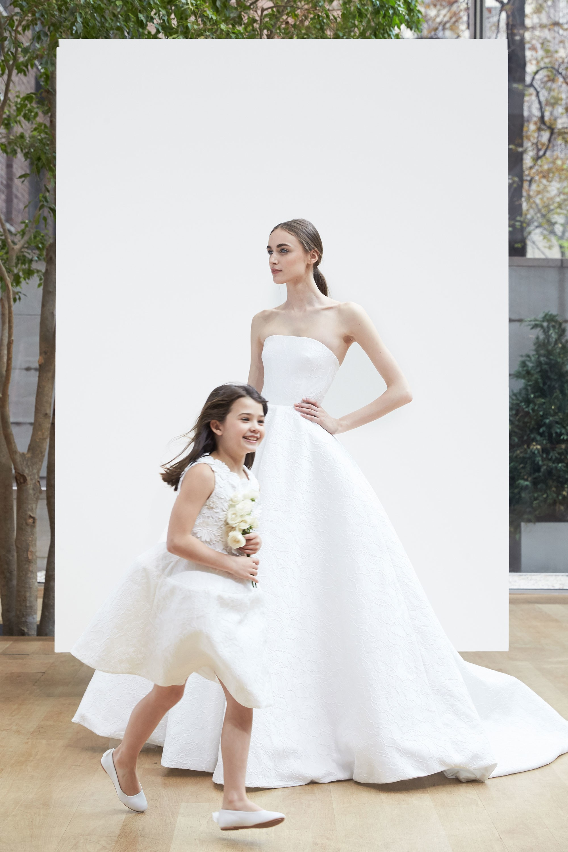 a5f2eb00792 Oscar de La Renta Flower Girls 2018