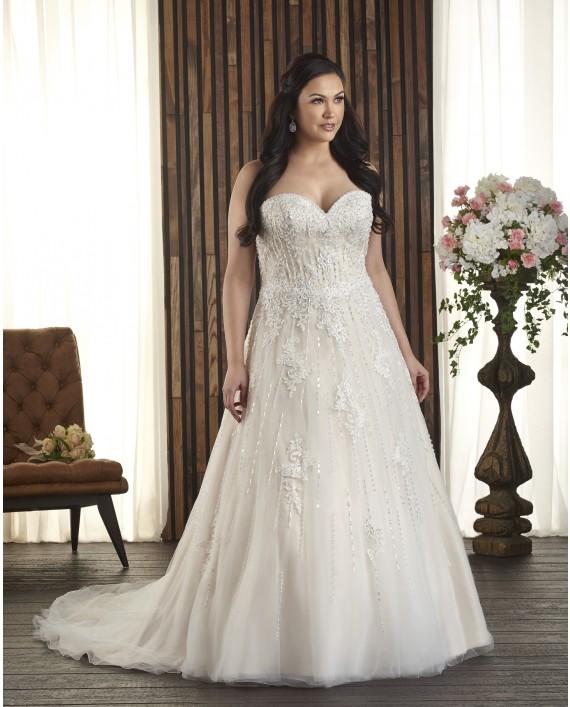Wedding Dresses For Full Figured 79 Nice bonny