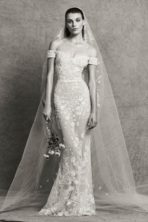 2018 Mermaid Wedding Dresses By Arab Designers Arabia