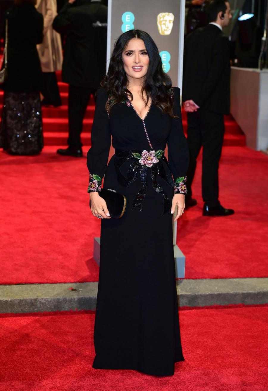 Our Favorite Black Dresses At The Bafta 2018 For Your
